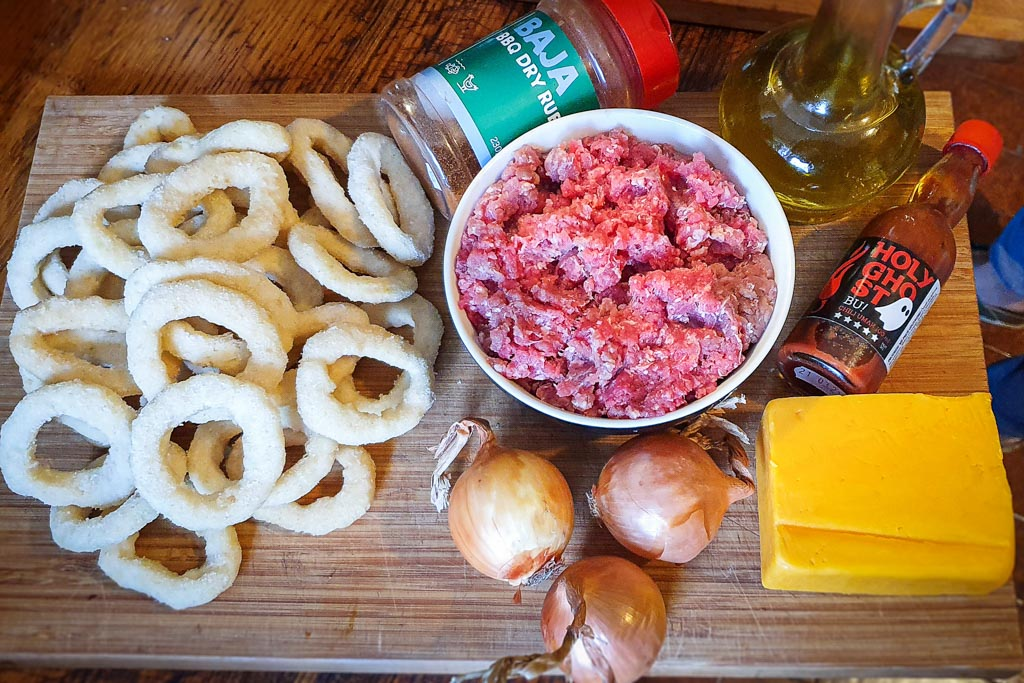 Onion Rings Nachos - VolimLjuto.com