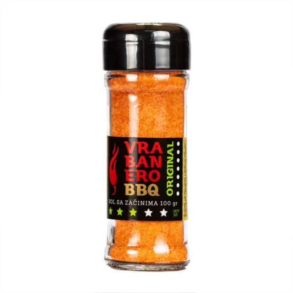Vrabanero BBQ Original sol 100g 2