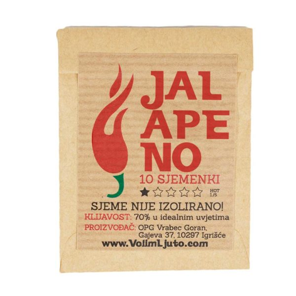 Jalapeno - Sjemenke chili papričica 4
