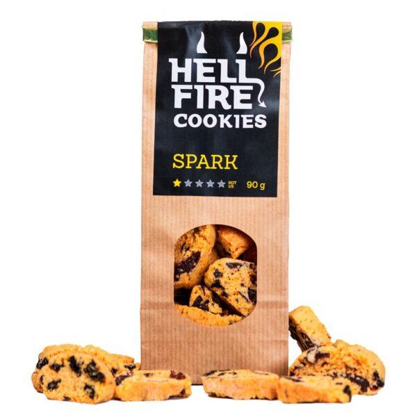 Hellfire Cookies Spark 90g - ljuti čokoladni keksi 3