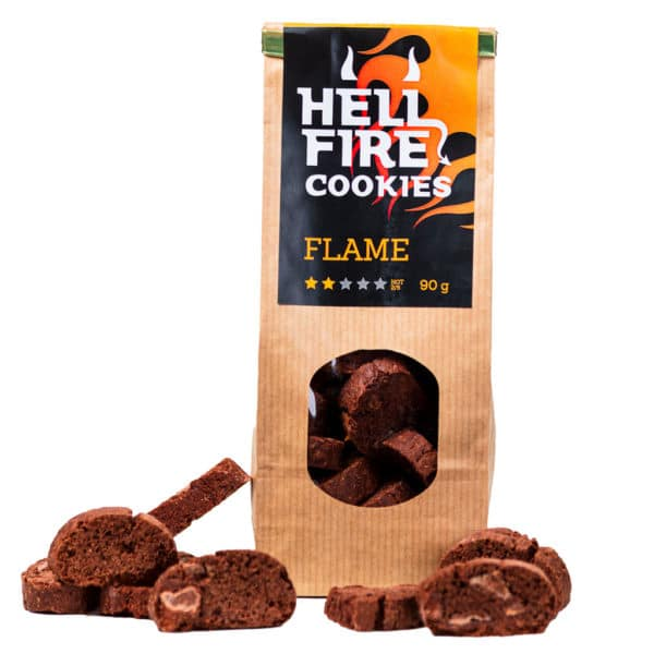 Hellfire Cookies Flame 90g - ljuti čokoladni keksi 3