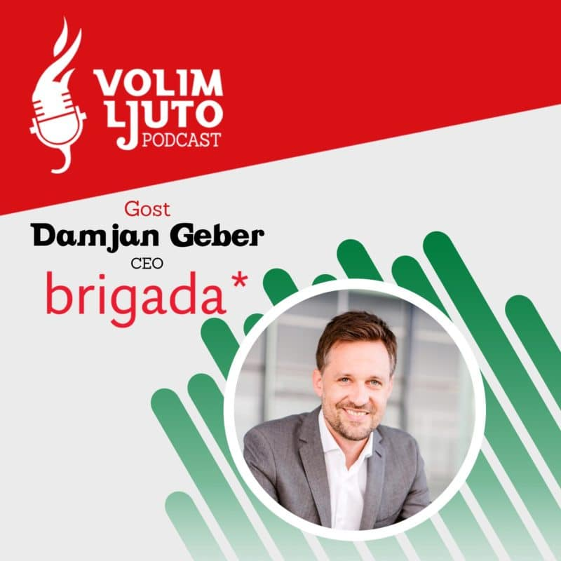 Damjan Geber Podcast Volim Ljuto