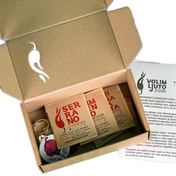 Hot Boxxx 15 x sjemenke chili papričica 2