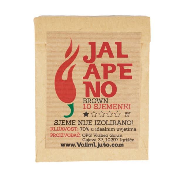 Jalapeno Brown - Sjemenke chili papričica 4
