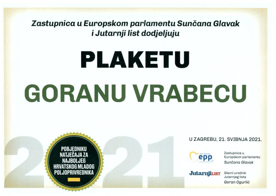 Najbolji mladi poljoprivrednik 2021. - VolimLjuto.com