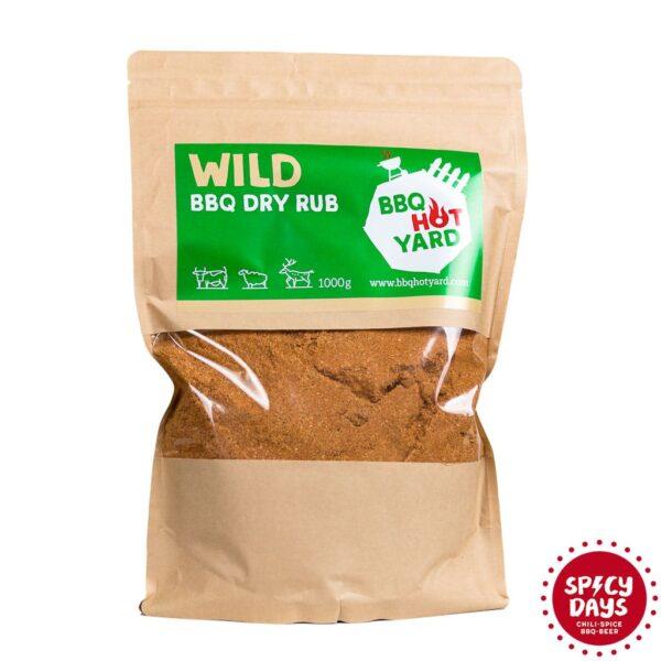 Wild BBQ Dry rub mješavina začina za roštilj 1kg