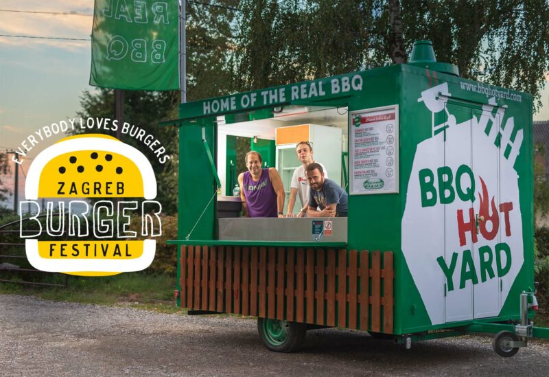 BBQ Hot Yard Zagreb Burger Festival